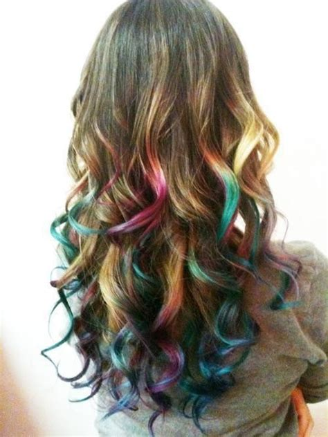 How To Get Temporary Vivid Highlights Women Hairstyles