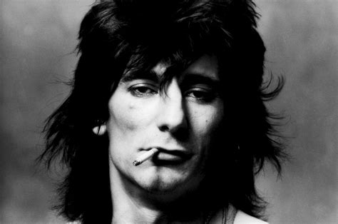 Rolling Stones Guitarist Ronnie Wood, A Smoker For 50