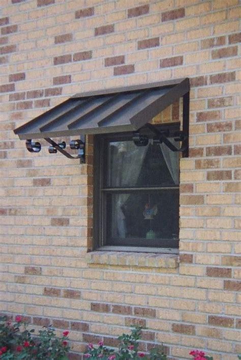 upstairs window  shutters wont fit metal awning diy awning awning  door
