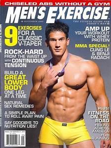 boy culture: MEN'S EXERCISE MAGAZINE