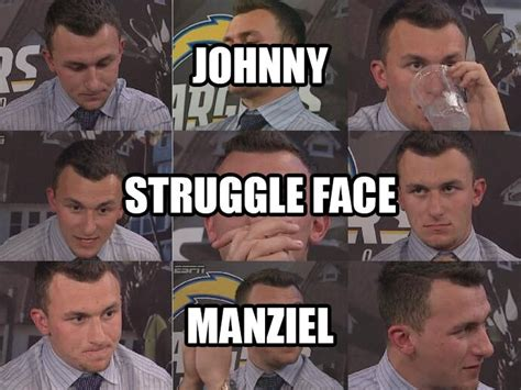 Johnny Football Meme - pin by kincaid gonzales on johnny football pinterest
