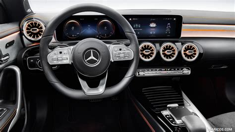 In this way you can make a clear statement and show at first glance what is important to. 2020 Mercedes-Benz CLA 250 Coupe Edition Orange Art - Interior | HD Wallpaper #30