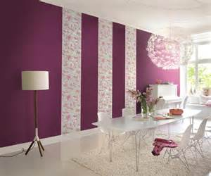 schlafzimmer ideen wandgestaltung drei farben wandgestaltung in fuchsia roomido