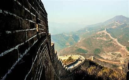 China Landscape Muralla Wallpapers Desktop Gran Backgrounds