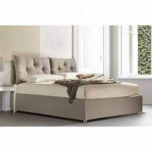 lits chambre literie lit coffre picpus 160200cm avec With tapis chambre bébé avec canape lit couchage 160