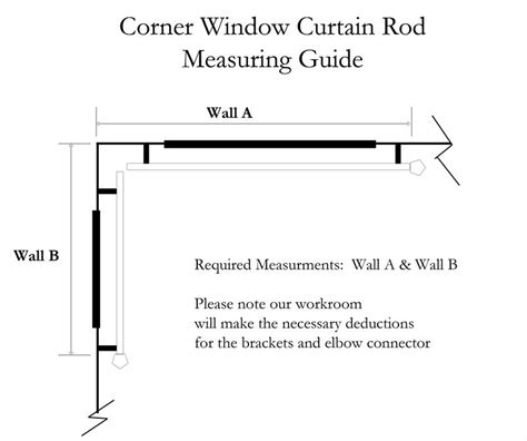 custom corner window 1 quot iron curtain rod featuring rounded