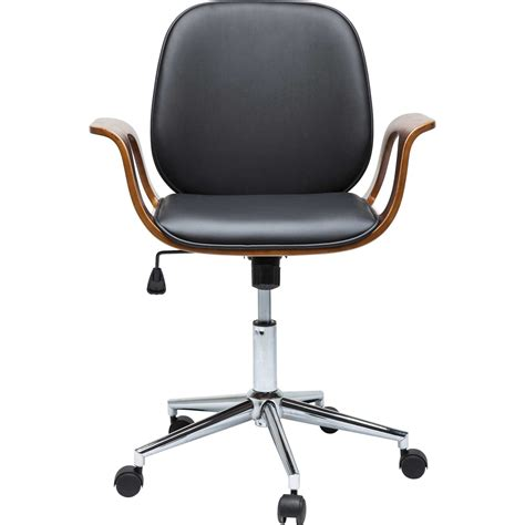 Chaise De Bureau Contemporaine Noire  Patron  Kare Design