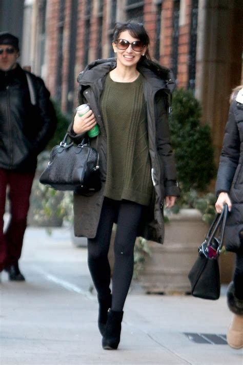 Hilaria Baldwin - Out in New York City, NY 1/6/2016 ...