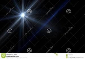 Abstract, Of, Lighting, Digital, Blue, Lens, Flare, In, Dark
