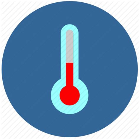 what does a thermometer icon in the weather channel cold label temperature weather icon icon