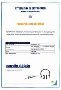 Certificat De Destruction D Un Véhicule : les tapes d 39 admission aux formations formaposte ile de france ~ Gottalentnigeria.com Avis de Voitures