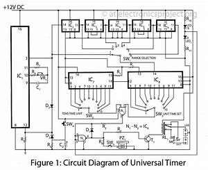 the universal timer electronics project With photo timer circuit