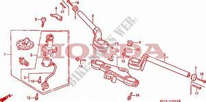 Handlebar For Honda Vfr 750 1991   Honda Motorcycles