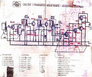 Schematic Diagram Of 707 Am Radio