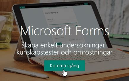 logga  pa microsoft forms office support