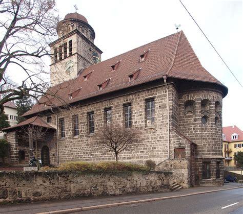 Entdecken sie ihr stuttgart erlebnis. Erlöserkirche (Stuttgart) - Wikipedia