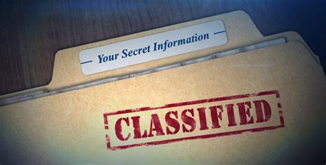 After Effects Template Secret Files by Classified By Cac003 Videohive