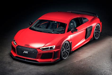 2017 Audi R8 Is Finally Beautiful Thanks To Abt Body Kit
