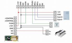 Rfid Acces Control Wiring Diagram For