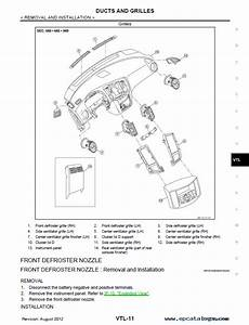 Nissan Maxima Model A35 Series 2012 Service Manual Pdf