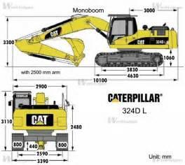 cat excavator sizes caterpillar 324d l caterpillar machinery
