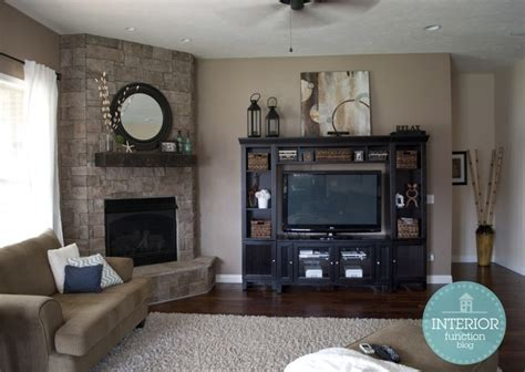 Living Room Setup With Corner Tv by Living Room Fireplace Entertainment Center Home