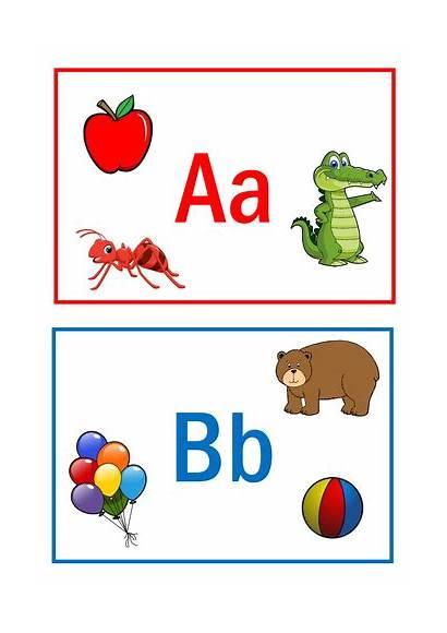 Alphabet Flashcards Resources Resource