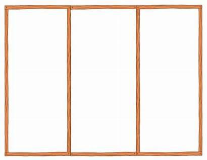 Brochure Blank Fold Tri Template Word Publisher