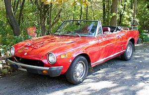 Fiat 124 Spider Service Repair Manual 1975