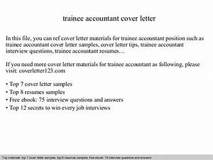 trainee accountant cover letter With cover letter for trainee accountant position