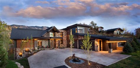 rustic home interiors breathtaking contemporary mountain home in steamboat springs