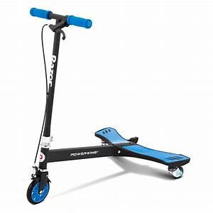 Razor® 20036003 - PowerWing™ Caster Scooter, Blue