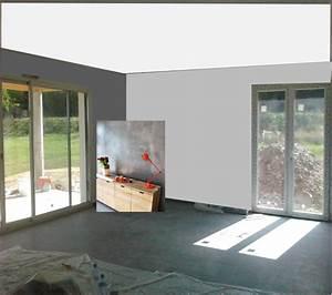 carrelage gris mur lin idees de decoration capreolus With quel mur peindre en fonce 10 peinture 10 deco chic en gris anthracite deco cool