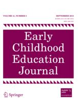early childhood education journal  option