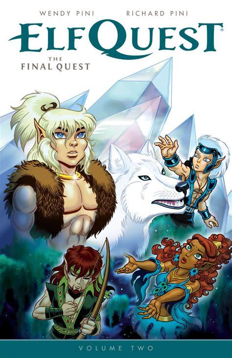elfquest  final quest volume  tpb profile dark