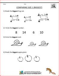 images  kindergarten math worksheets