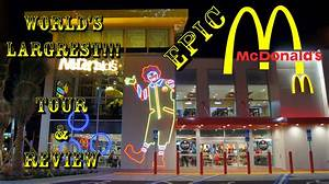 "World's Largest McDonald's ""Epic McDonalds"" Opening Day ..."