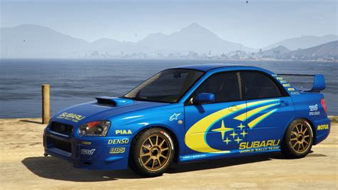 subaru wrx subaru impreza wrx sti 2004 world rally team livery