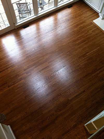 white oak  duraseal english chestnut stain