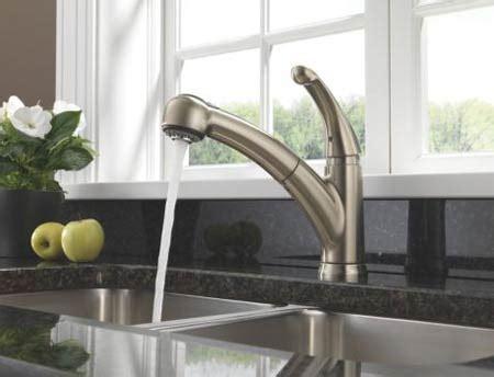 delta  dst palo single handle pull  kitchen faucet