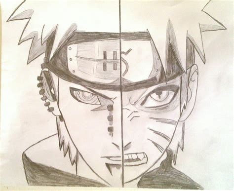 Anime Naruto Sketch Uzumaki Naruto Sketch Xxchibigurlxx
