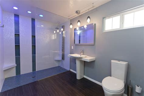 Modern Universal Design Bathroom Remodel
