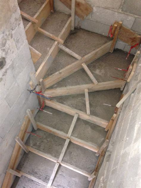 cr 233 ation d un escalier en b 233 ton arm 233 224 salon de provence 13 agence architecture provence