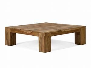 Table Basse Blanc Bois : table basse en bois ~ Teatrodelosmanantiales.com Idées de Décoration