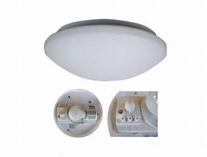 Lampe Mit Sensor : deckenleuchte deckenlampe mit bewegungsmelder radar sensor decken lampe leuchte ebay ~ Watch28wear.com Haus und Dekorationen
