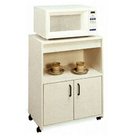 microwave carts white microwave stand  casters