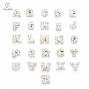 aliexpresscom buy hebrew letter charms crystal With hebrew letter charms