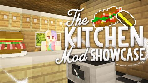 Minecraft Kitchen Mod 1 7 10 Wiki by Minecraft Mod Showcase The Kitchen Mod