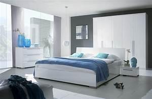Chambre a coucher design blanche magasin de meubles plan for Chambre a coucher moderne blanche