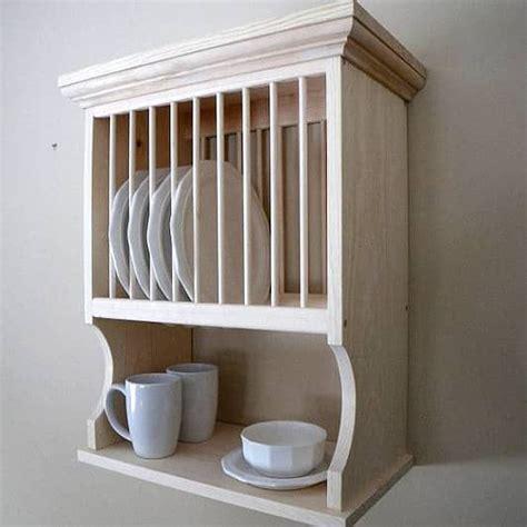 wall mounted dish racks whats  style